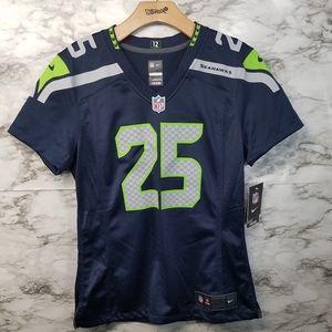 Nike Seattle Seahawks Womens Jersey #25 Sherman M